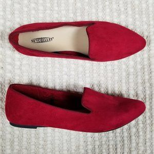 Seychelles Ruby Red Loafers Sz 9.5
